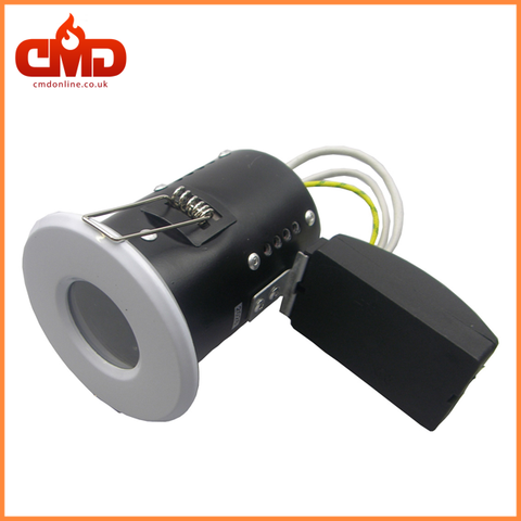 GU10 Fire Rated Short Can Downlights - Die Cast - IP65 Showerlight - CMD Online