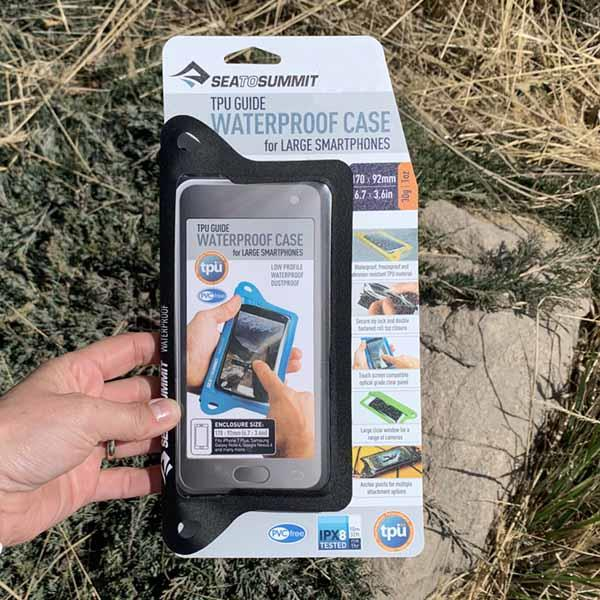 Sea to Summit TPU Guide Waterproof Case for Large Smartphones