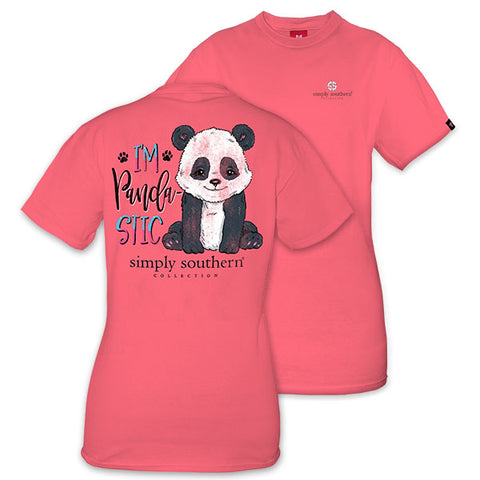 Simply Southern Preppy I'm Pandastic T-Shirt