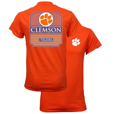 Southern Couture South Carolina Clemson Tigers Classic Preppy T-Shirt - SimplyCuteTees