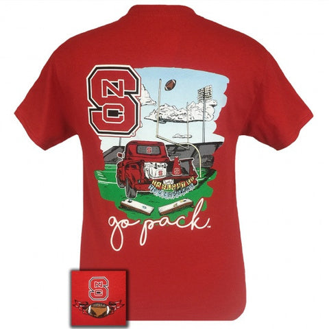 North Carolina State Wolfpack Tailgates & Touchdowns Party T-Shirt