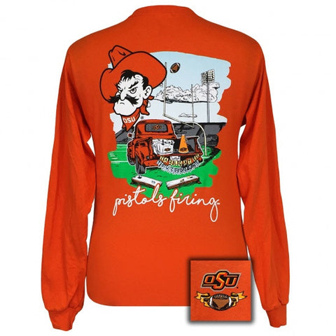 Oklahoma State University OSU Tailgates & Touchdowns Party Long Sleeve T-Shirt
