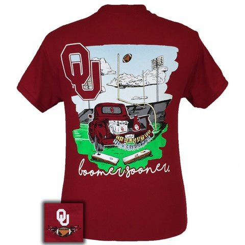 Oklahoma Sooners Tailgates & Touchdowns Party T-Shirt