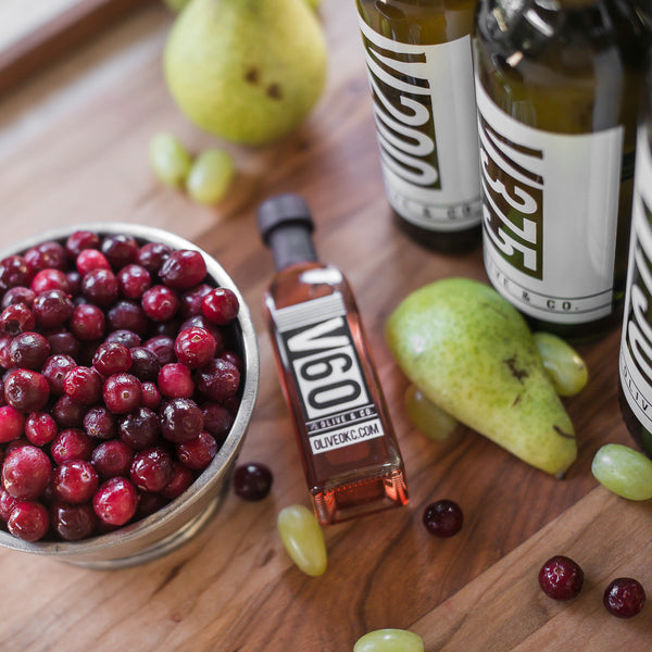 Cranberry Pear Aged White Balsamic Vinegar