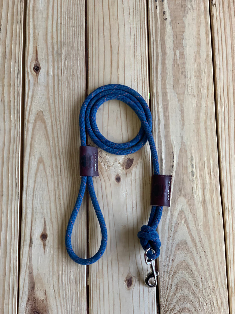 "Recycled Climbing Rope Dog Leash ""Lucy """