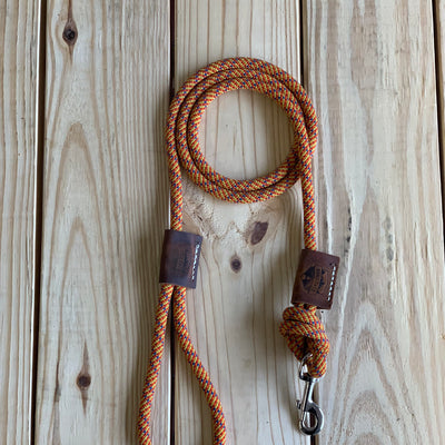"Recycled Climbing Rope Dog Leash ""Bocci """