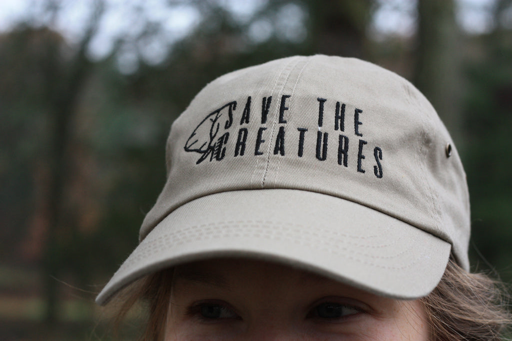 SAVE THE CREATURES | Natural Logo Cap
