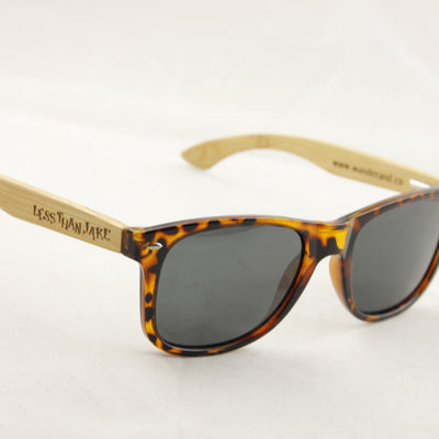Wander & Co. x LESS THAN JAKE Limited Edition Bamboo Sunglasses 2.0