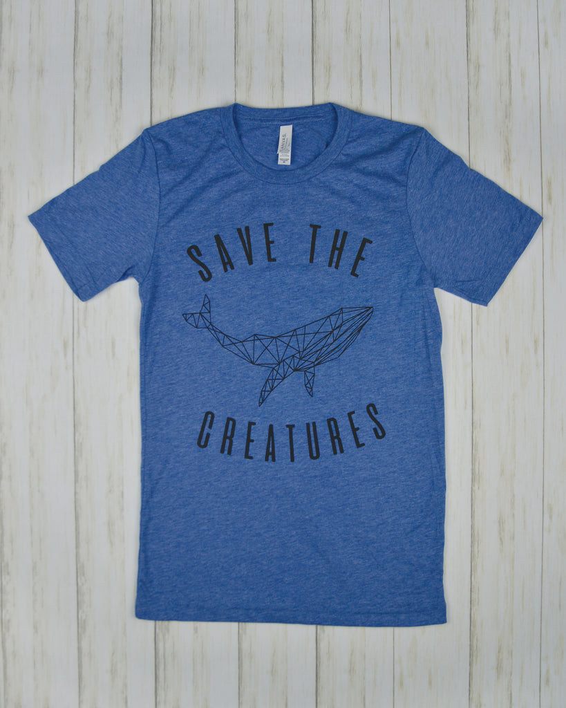 SAVE THE CREATURES | WHALE Tee