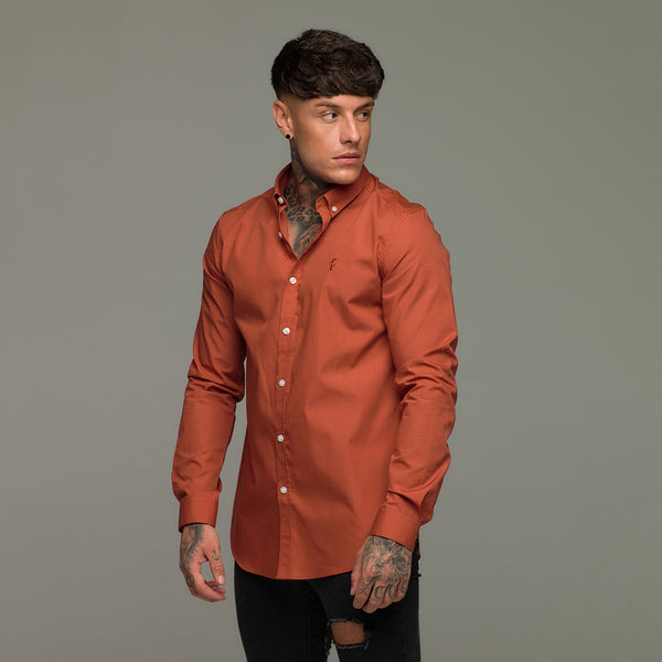 Father Sons Burnt Orange Long Sleeve - FS222