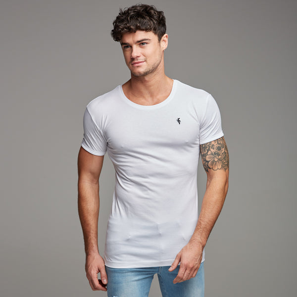 Father Sons Classic White Crew FSH075