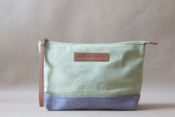 Triangle Pouch / Muddled Mint