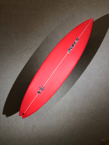 "Pukas Surfboard - BABY SWALLOW by Axel Lorentz - 6'06"" x 19,25 x 2,5 x 34L - AX02616"