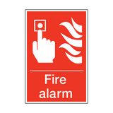 Fire Alarm Sign | PVC Safety Signs | Health and Safety Signs