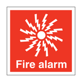 Fire Alarm Symbol Safety Sign | PVC Safety Signs | Health and Safety Signs