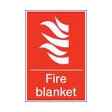 Fire Blanket Sign | PVC Safety Signs | Health and Safety Signs
