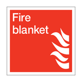 Fire Blanket Square Sign | PVC Safety Signs | Health and Safety Signs