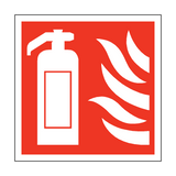 Fire Extinguisher Square Sign | PVC Safety Signs | Health and Safety Signs