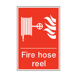 Fire Hose Reel Sign | PVC Safety Signs | Health and Safety Signs