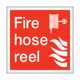 Fire Hose Reel Square Sign | PVC Safety Signs | Health and Safety Signs