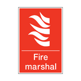 Fire Marshal Sign | PVC Safety Signs | Health and Safety Signs