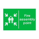 General Fire Assembly Point Sign | PVC Safety Signs | Health and Safety Signs
