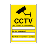 CCTV Security Sign | PVC Safety Signs