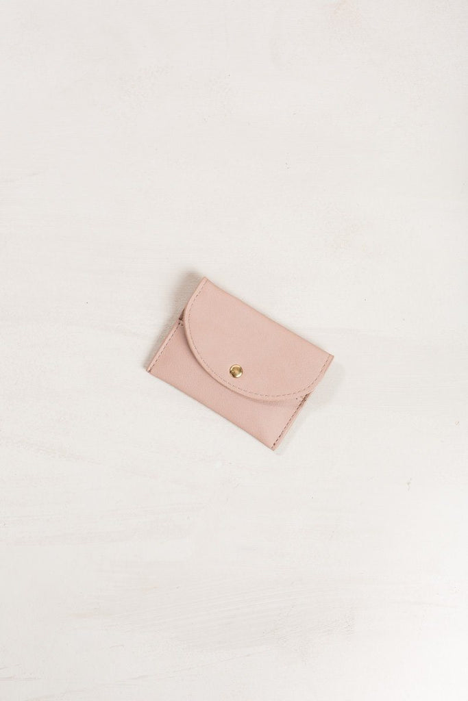 Mina Card Wallet Handbags MMS Mauve