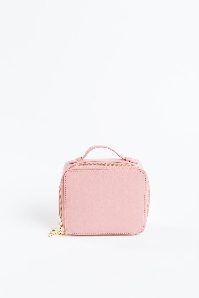 Beatrix Pink Makeup Case Handbags Urban Expressions