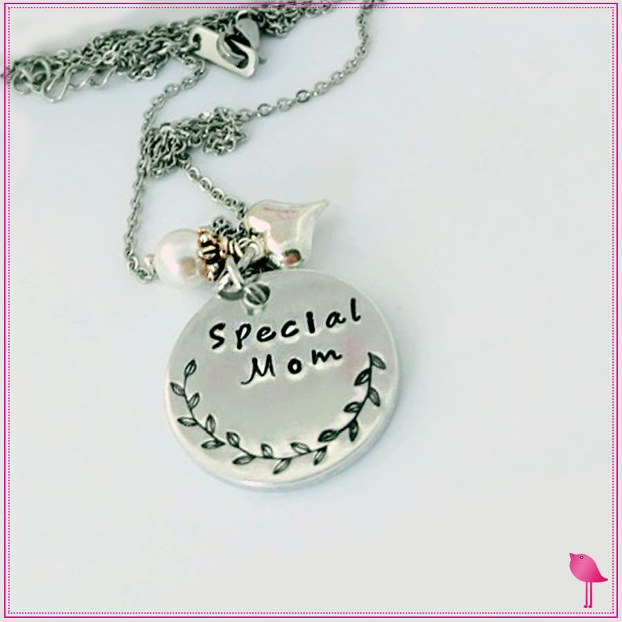 Special Mom Bling Chick Charm Necklace - Bling Chicks Jewelry Accessories Gifts