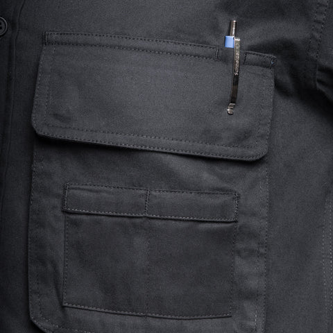 big snap-close pockets - Big Pocket Shirt DOUBLE ECLIPSE - COOPH store