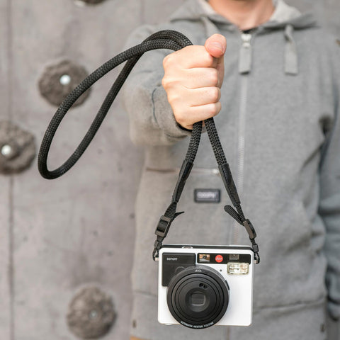Leica Camera Rope Strap SO - Night Black - Leica Camera Rope Strap SO - Night Black - COOPH store