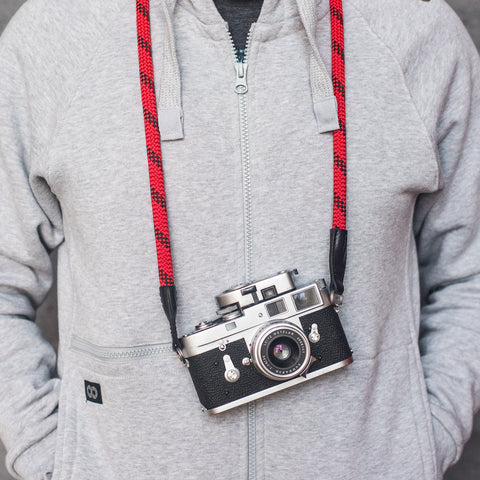 Leica Rope Strap - Fire - Leica Camera Rope Strap - Fire