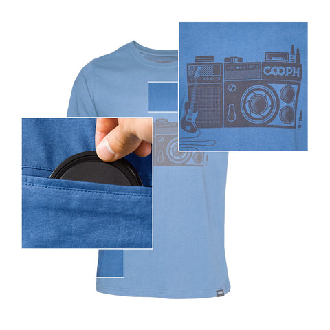 features - T-Shirt ROCKTOGRAPHER - COOPH store