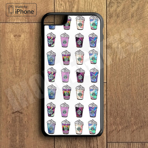 Coffee Cup Collection Plastic Case iPhone 6S 6 Plus 5 5S SE 5C 4 4S Case Ipod Touch 6 5 4 Case iPhone X 8 8 Plus