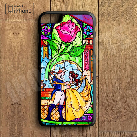 Beauty and Beast Plastic Case iPhone 6S 6 Plus 5 5S SE 5C 4 4S Case Ipod Touch 6 5 4 Case iPhone X 8 8 Plus