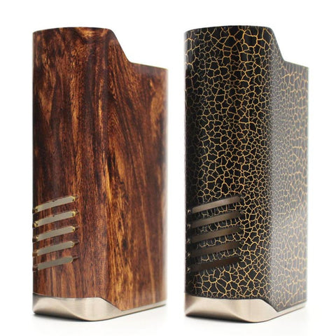 IJOY Limitless LUX Replacement Sleeves, wood and crackle finish. The Village Vaporette.