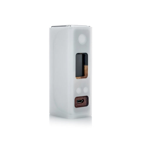 Sigelei Evaya 66W Mod with Stabilized Wood face plate, silicone sleeve. The Village Vaporette.
