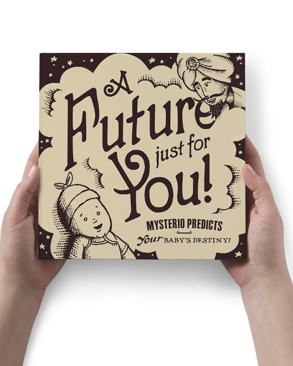 Baby Gift Set | Mysterio Future-Predicting Baby T-shirt and Picture Book