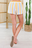 Beach Party Lace Up Shorts
