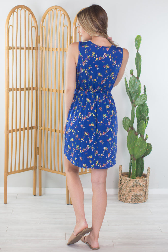 Prairie Flower Wrap Dress