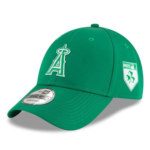 Men's Hat Angels New Era Green 2018 St. Patrick's Day Low Profile Adjustable