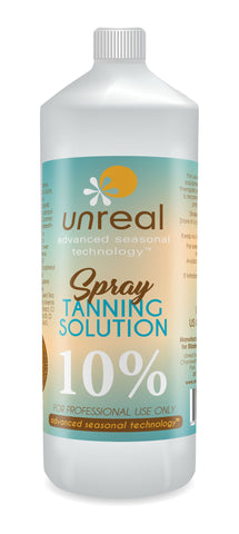 Unreal Sunless Tanning Solution 10%