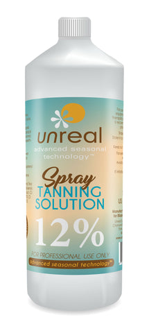 Unreal Sunless Tanning Solution Dark 12%