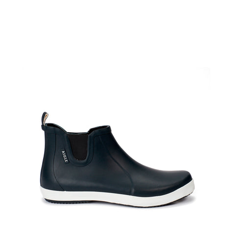 Men's Malouin Chelsea Boot, Marine / White