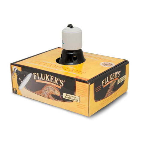 Fluker's Repta Clamp Lamp with Switch