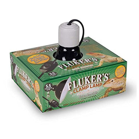 Fluker's Repti-Clamp Lamp Ceramic with Dimmable Switch