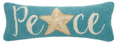 Starfish Peace Hook Pillow