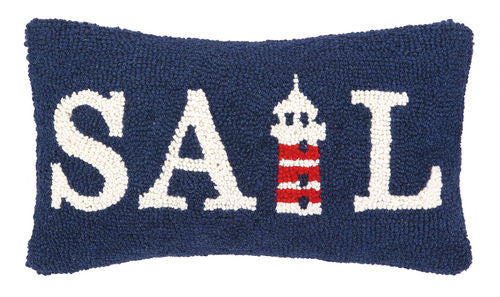 Sail Hook Pillow- Backordered Item!