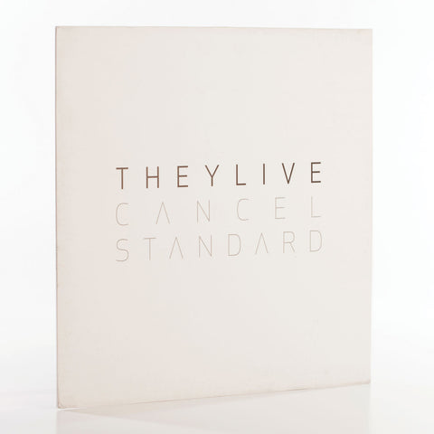 ExitLP007 - They Live 'Cancel Standard' Album (Vinyl)